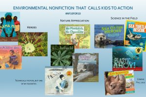 Environmental books that call kids to action #nf10for10