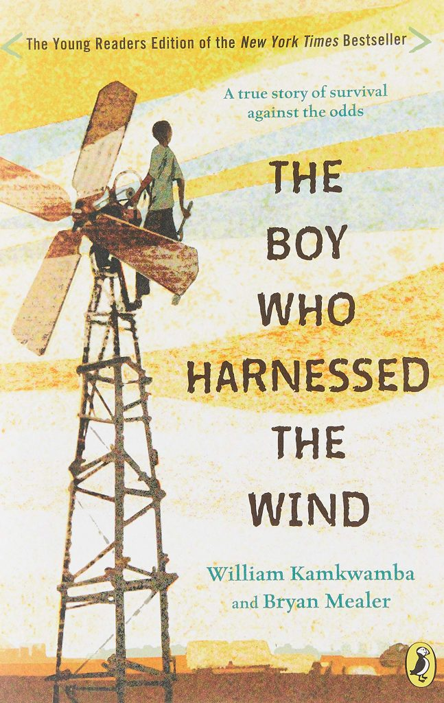 Boy Who Harnessed cover