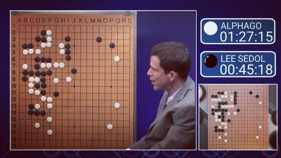 Lee Sedol and AlphaGo
