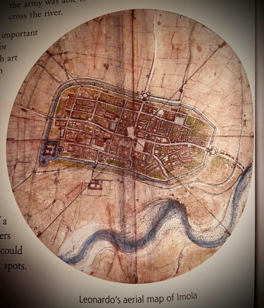 aerial map da Vinci